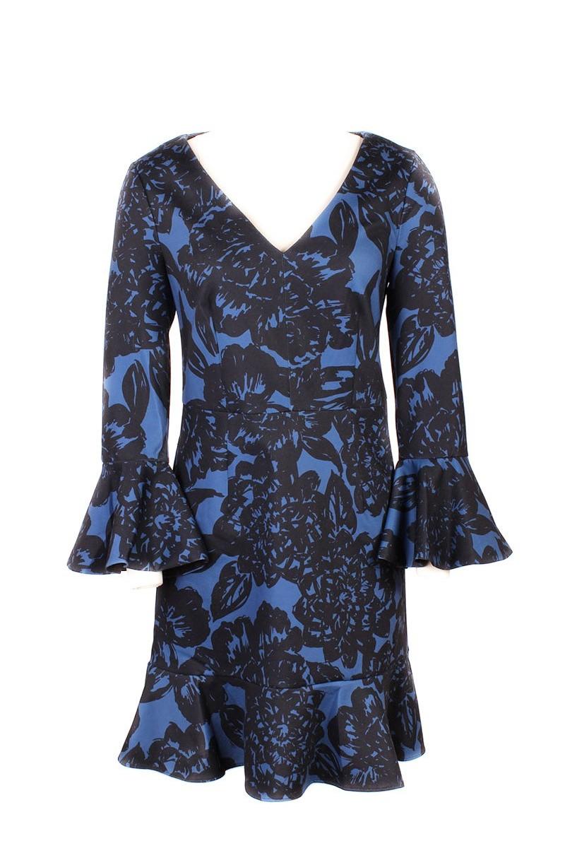 Trina Turk - Women's Tea Dress Clearwater Dress - Midnight
