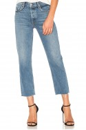 Grlfrnd - Women's Helena High Rise Straight Crop Jean - Groovy Situation