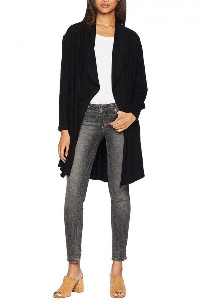 LNA - Women's Brushed Diverge Cardigan - Black