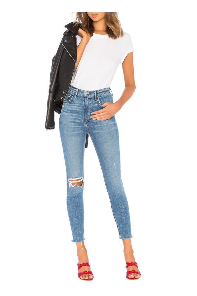 Grlfrnd - Women's Kendall Super Stretch High Rise Skinny Jean - Amelia