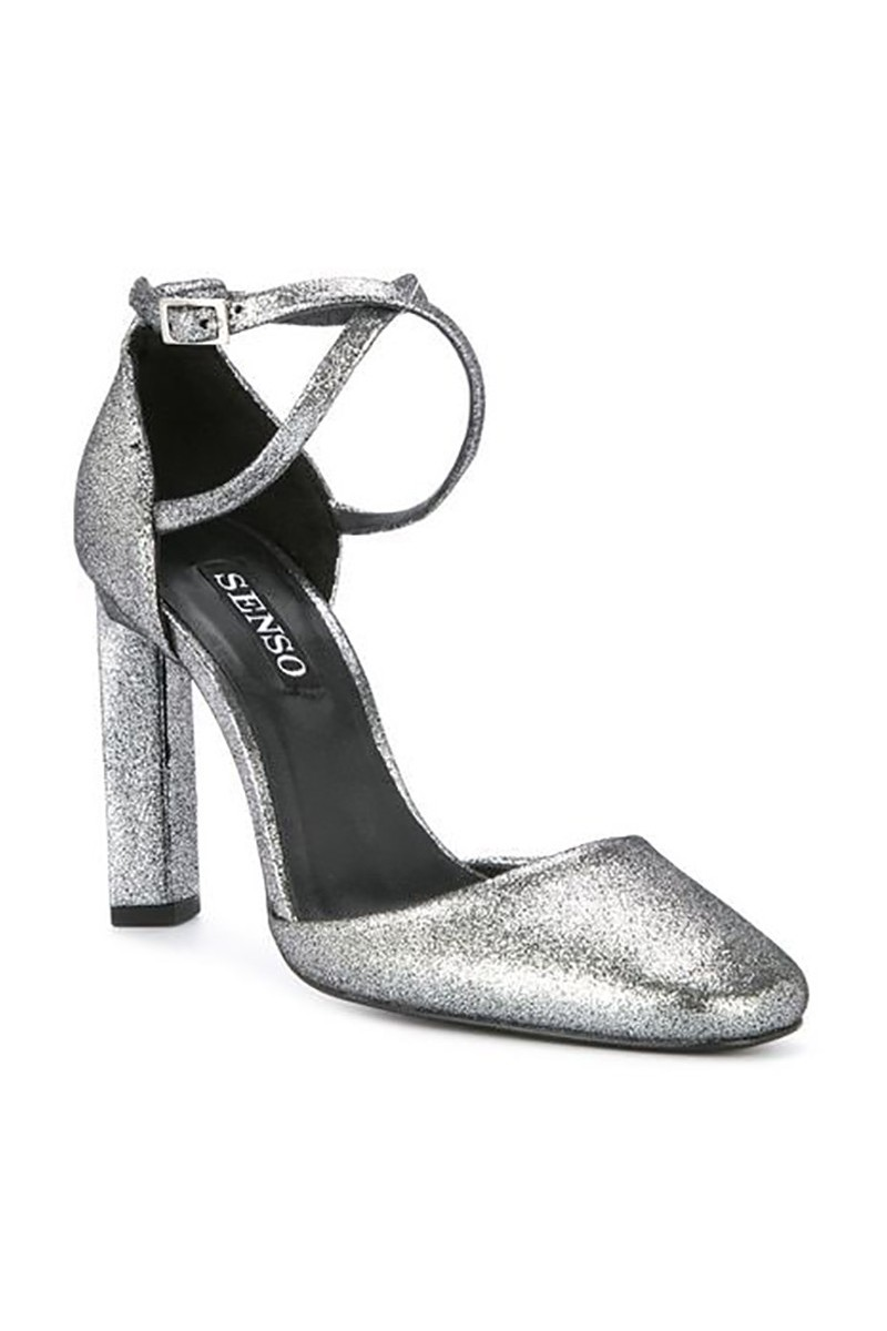 Senso - Women's Wilmer II Metallic Sandals - Silver
