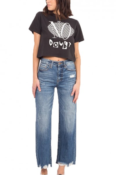 Pistola - CHER HIGH RISE CROP WIDE LEG PANT - INTRAPERSONAL