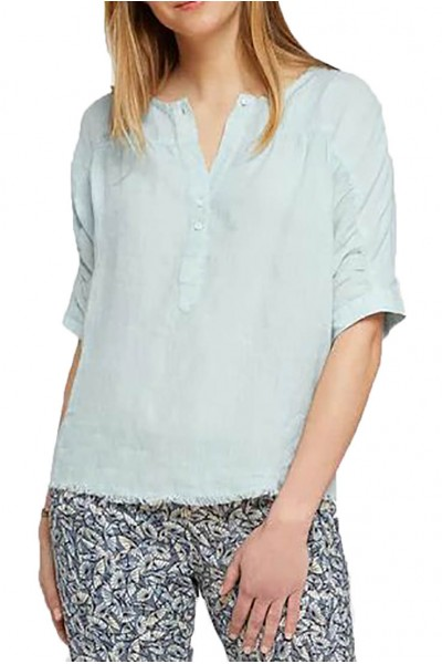 Nic+Zoe - Women's Spring Time Top - Blue Light