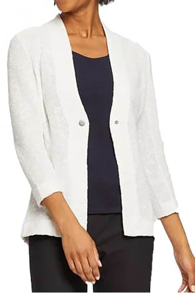 Nic+Zoe - Women's One For All Jacket - Paper White