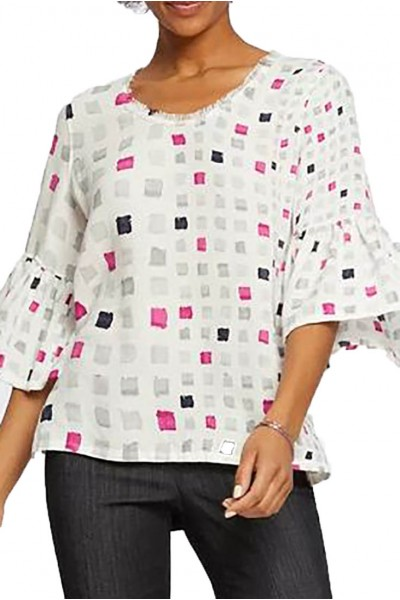 Nic+Zoe - Women's Orchid Pop Top - Multi