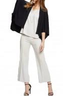 Nic+Zoe - Women's Sleek Lines Pant - Silver Wisp