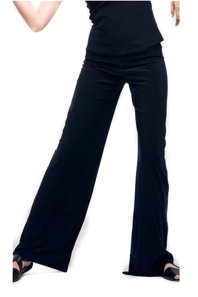 Norma Kamali - Women's Straight Leg Pant - Midnight