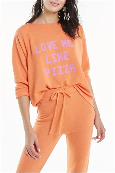 Widfox - SP19C - Love Me Like Pizza Sommers Sweater