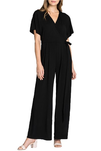 Nic+Zoe - Ease Jumpsuit - Black Onyx