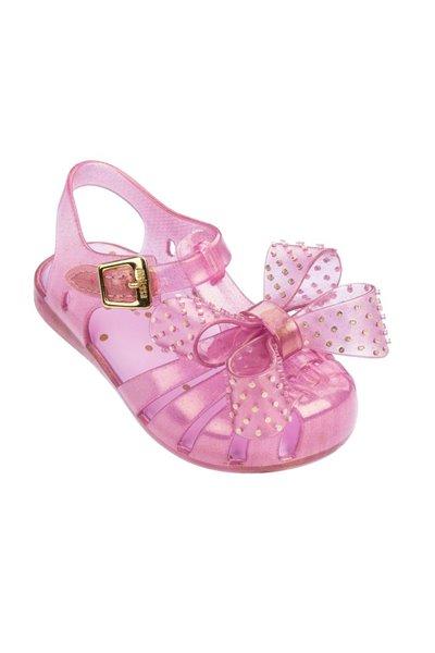 Mini Melissa - Kids Aranha XII BB - Pink Glitter