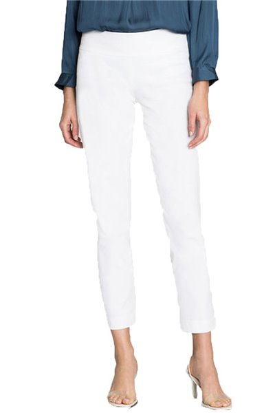Nic+Zoe - Cotton Wonderstretch Pant - Paper White