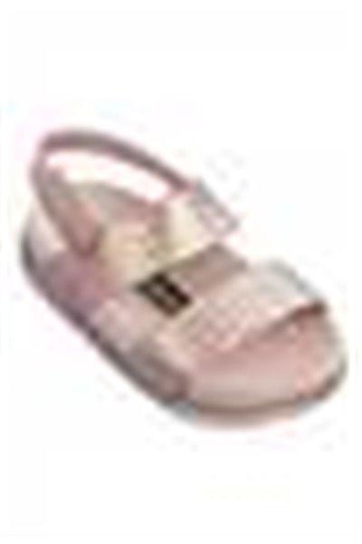 Mini Melissa - Kids Cosmic Sandal + Baja East BB - Pink Metallic Pink