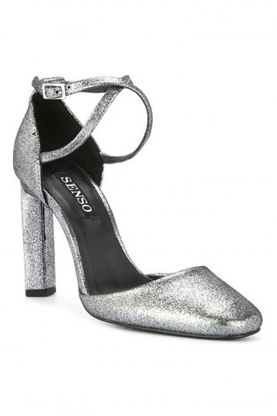 Senso - Women's Wilmer II Metallic Sandals - Silver
