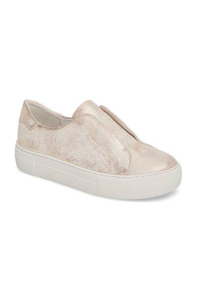 JSlides - Alara Slip On Sneakers - Soft Pink