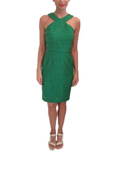 Trina Turk - SP19A - Ace Dress - Kelly Green (Not Mapped)