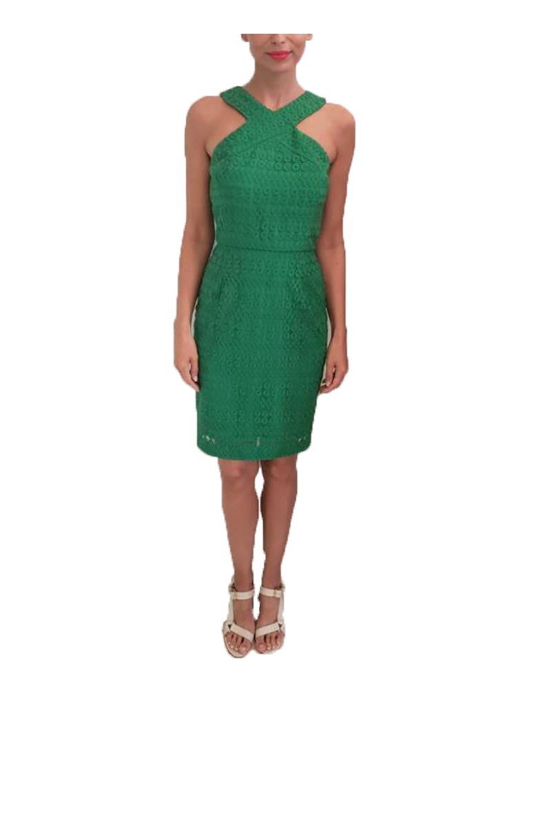 Trina Turk - SP19A - Ace Dress - Kelly Green (Not Mapped)