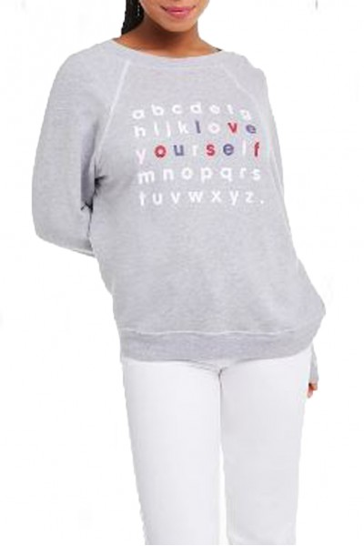 Wildfox - Women's Love Yourself Sommers Sweater - Heather