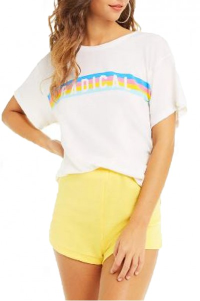 Wildfox - Women's Radical Manchester Tee - Vintage Lace