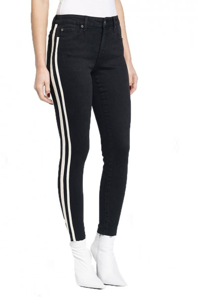 Pistola - Women's Audrey Mid Rise Skinny Pant - Berlin Night