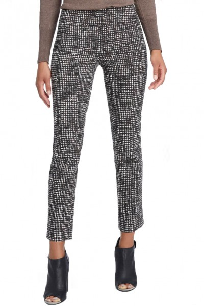 Nic+Zoe - Women's Abstract Tweed Wonderstretch Pant - Multi