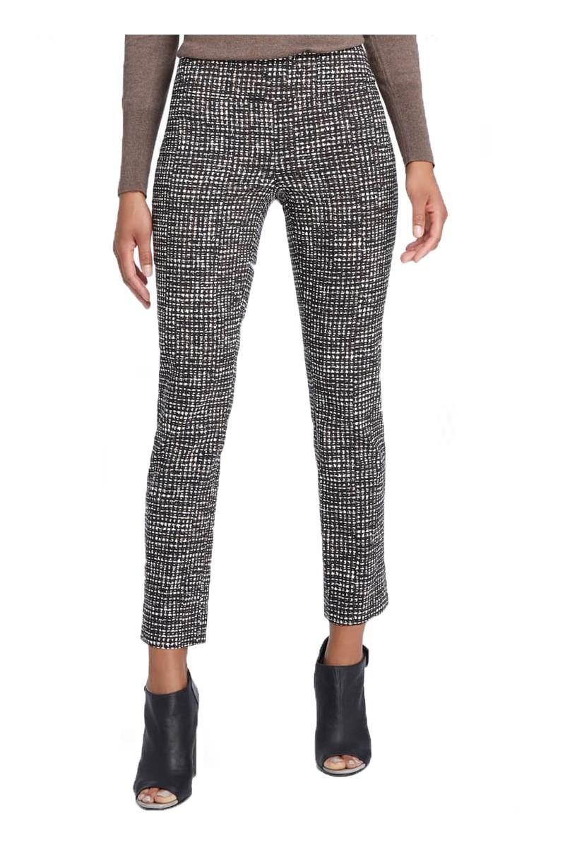 Nic+Zoe - Women's Abstract Tweed Wonderstretch Pant - Multi