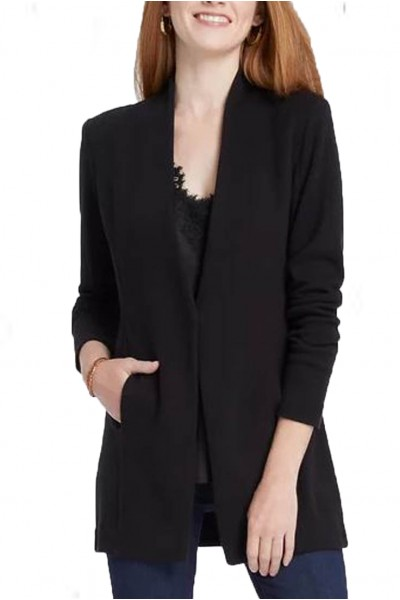 Nic+Zoe - Women's Grace Jacket - Black Onyx