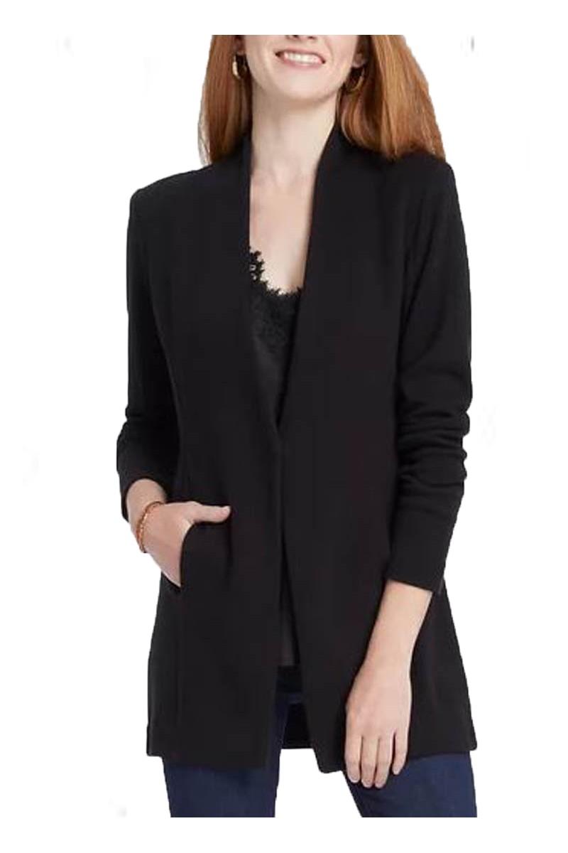 Nic+Zoe - Women's Grace Jacket - Black Onyx