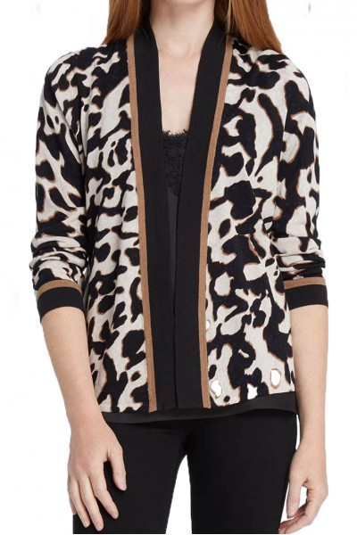 Nic+Zoe - Women's Leader Of The Pack Cardy - Multi