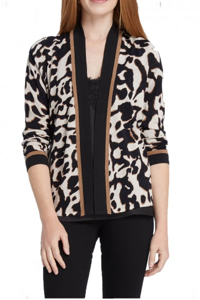Nic+Zoe - Women's Leader Of The Pack Top - Multi