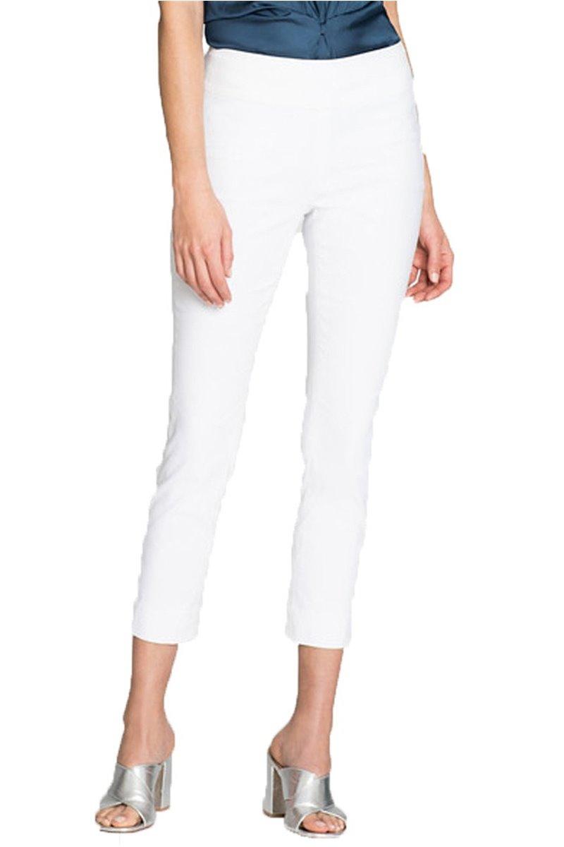 Nic+Zoe - Polished Wonderstretch Pant - Paper White
