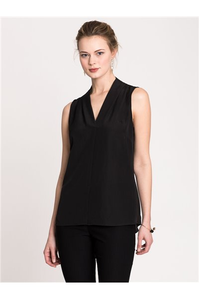 Nic+Zoe - EASY DAY TO NIGHT TOP - Black Onyx