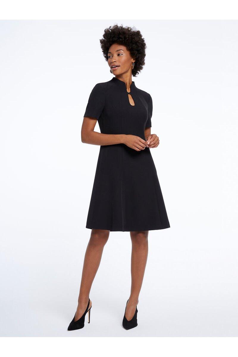 Nic+Zoe - CEADING LADY DRESS - Black Onyx