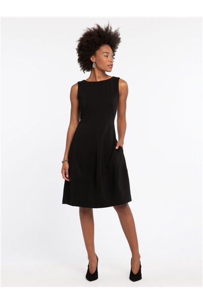 Nic+Zoe - GUEST LIST DRESS - Black Onyx