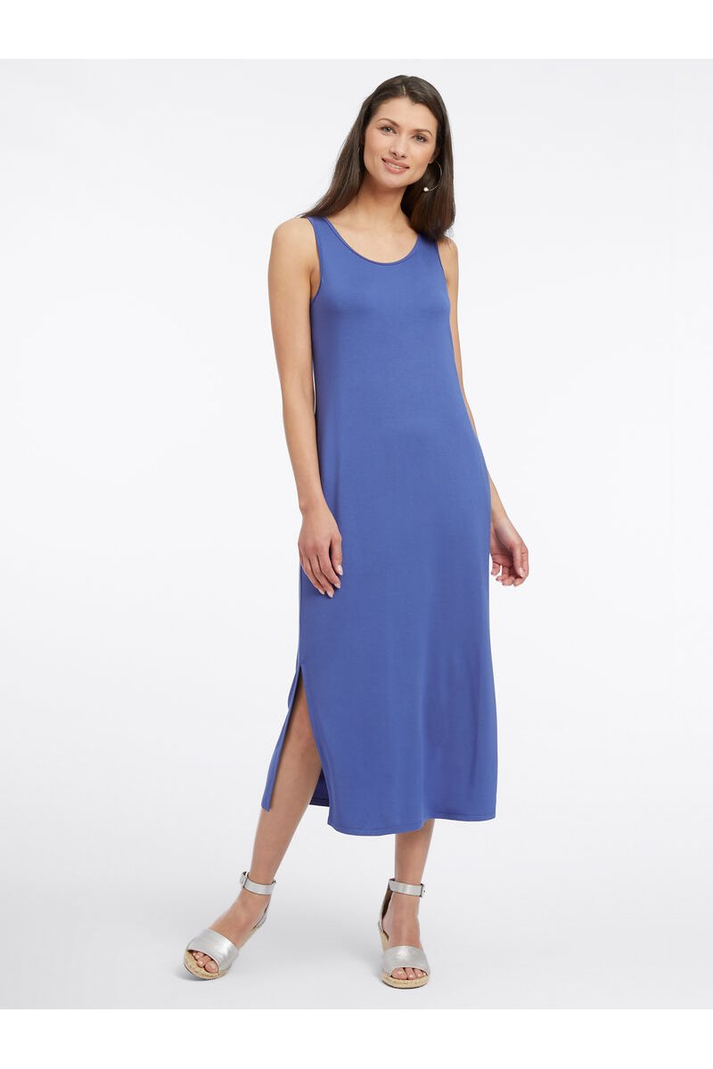 Nic+Zoe - EASE + COMFORT DRESS - WASHED COBALT