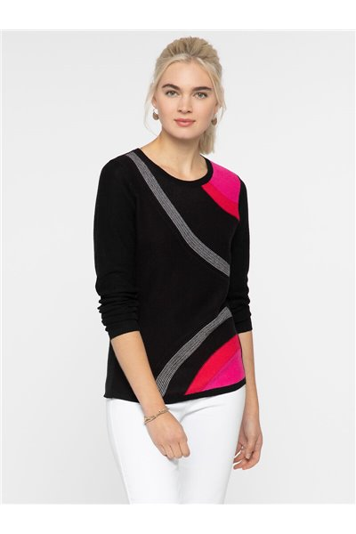 Nic+Zoe - INNER CIRCLE SWEATER - Multi