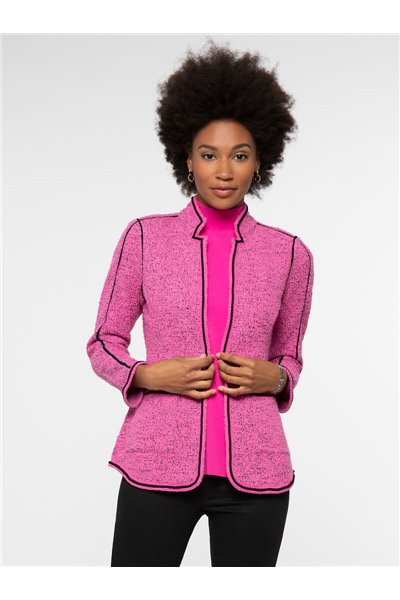 Nic+Zoe - POWER PLAY JACKET - PURE PINK