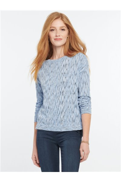 Nic+Zoe - DAYTRIP SWEATER - Alabaster