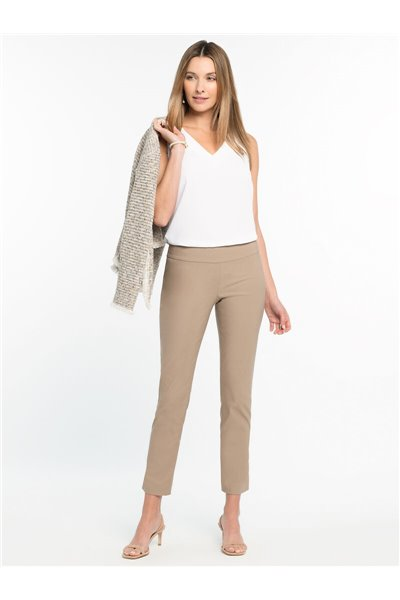 Nic+Zoe - ANKLE WONDERSTRETCH PANT - PALE SMOKE