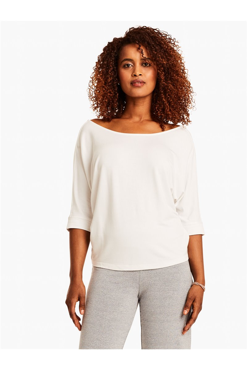 Nic+Zoe - IN THE MOMENT TEE - Paper White