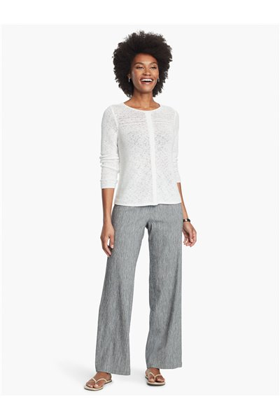 Nic+Zoe - HERE OR THERE PANT - Black Mix
