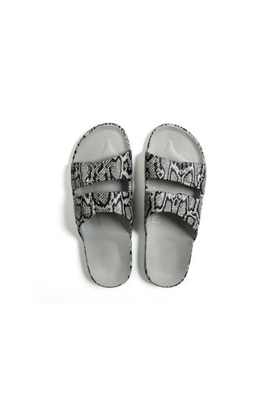 Moses - Adult Freedom Slipper Sandals - COBRA GREY