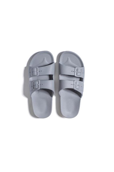 Moses - Adult Freedom Slipper Sandals - Grey