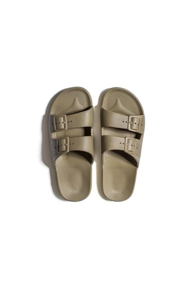 Moses - Adult Freedom Slipper Sandals - Khaki