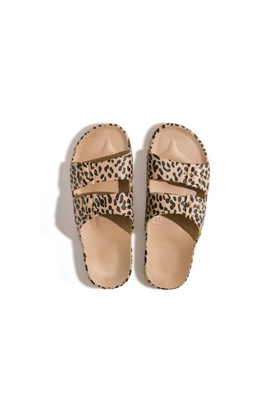 Moses - Adult Freedom Slipper Sandals - Leo CAMEL