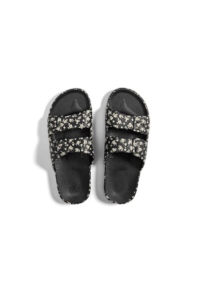 Moses - Adult Freedom Slipper Sandals - Lily Rose Black