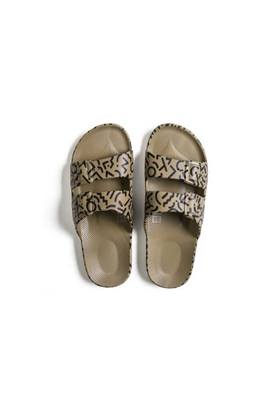 Moses - Adult Freedom Slipper Sandals - MEMPHIS KHAKI