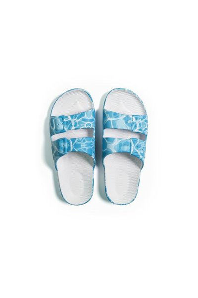 Moses - Adult Freedom Slipper Sandals - Splash