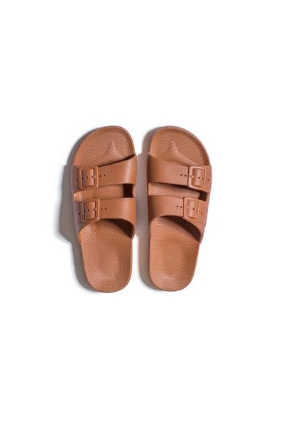 Moses - Adult Freedom Slipper Sandals - Toffee