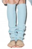 Wildfox - Knit Legwarmers - Blue