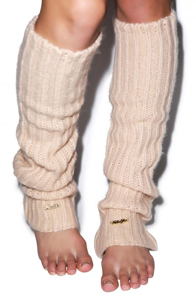 Wildfox - Knit Legwarmers - Lace